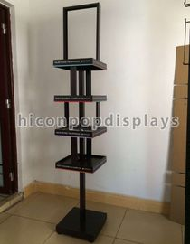 China Products Advertise POP Metal Display Racks , Cosmetic Display Racks supplier