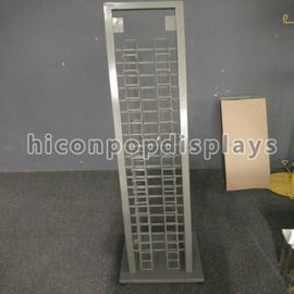 China 20 Layer Steel Tile Display Racks Free Standing Surface Finishing supplier