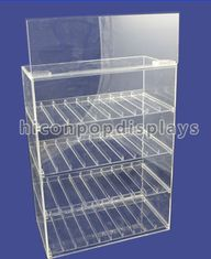 China Tobacco Custom Acrylic Display Case Transparent Waterproof OEM Service supplier