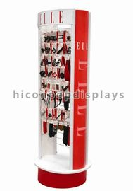 China Flooring Hair Accessories Display Stands , Rotating Display Rack supplier