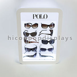 China Retail Store Illuminating Sunglasses Display Case Acrylic Eyewear Display Cases supplier