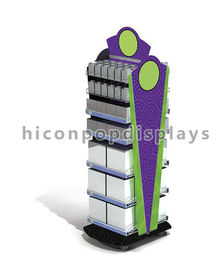 China Metal Floor Standing Gondola Retail Display Shelving Free Design For Supermarket supplier