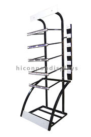 China Automotive Products Floor Standing Display Retail Store Tyre Display Stand supplier