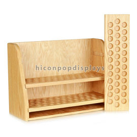 China Countertop Wooden Display Racks Detachable For Essential Oil Merchandising supplier