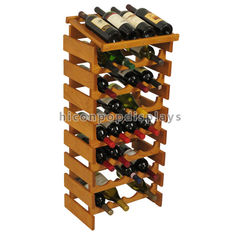 China Custom Wine Display Stand Wine Shop Retail Advertising Wood Floor Wine Rack supplier