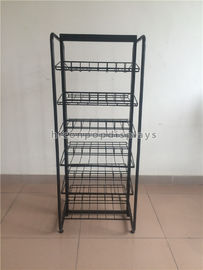 China High End Clothing Store Fixtures 5 Shelves Double Sided Display Stand For Caps supplier