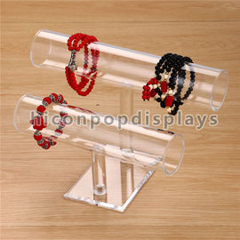 China Acrylic Counter Display Racks Custom Size Watch Bracelet Display Stand For Shops supplier