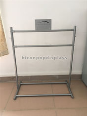 China Custom Hair Salon Shop Fitting Metal Hair Extension Display Rack Freestanding supplier