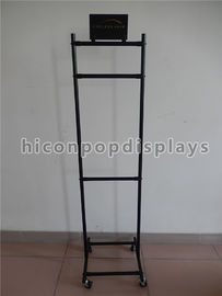 China Salon Hair Extension Retail Store Displays Metal Beauty Supply Store Display Shelf supplier