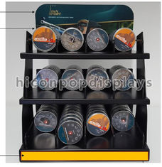 China Shooting Products Shop Pop Merchandise Displays Custom Countertop Display In Metal supplier