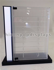China Retail Shop Sunglasses Display Case Countertop Acrylic Glasses Display With Lock / Key supplier