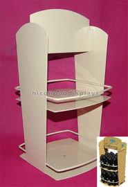 China 2-Layer Stationery Metal Display Racks Powder Coated For Shops / Supermarkets supplier