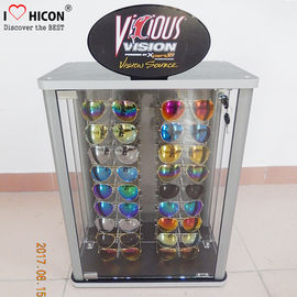 China Countertop Eyeglasses Retail Acrylic Display Case Custom Logo For Sunglasses supplier