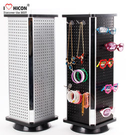 China Fashion Accessories Display Stand Metal Counter Rotating For Promotion supplier