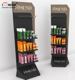 China Promotion Design Cosmetic Display Stand Beauty Salon Cosmetic Gondola Display supplier