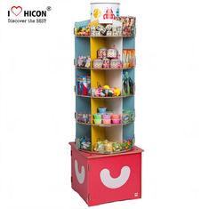China Inspire Kids Floor Standing Spinner Display Rack POP Toy Store Display Stand supplier
