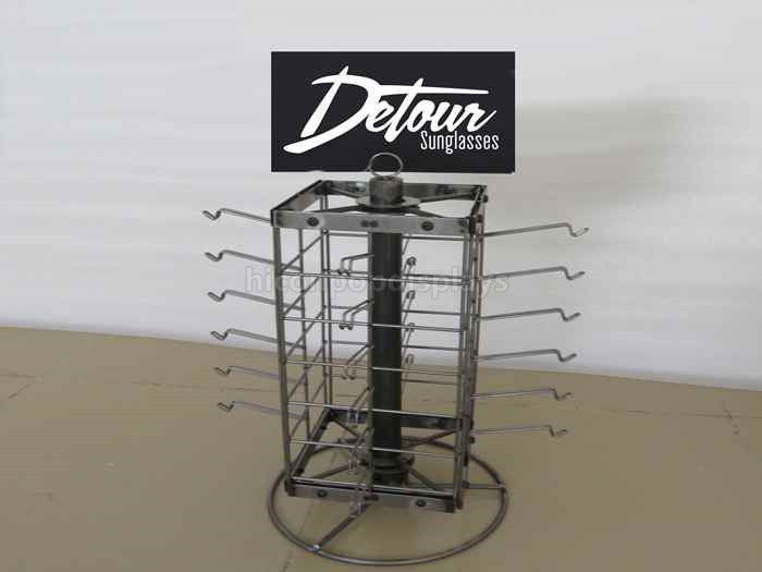 Merchandising Display Stands Visual Merchandising Table Top Display Stand Spinner Dust Proof 28