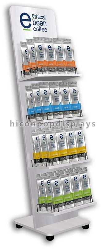Merchandising Display Stands Painted Food Visual Merchandise Display Stands For Supermarkets 9