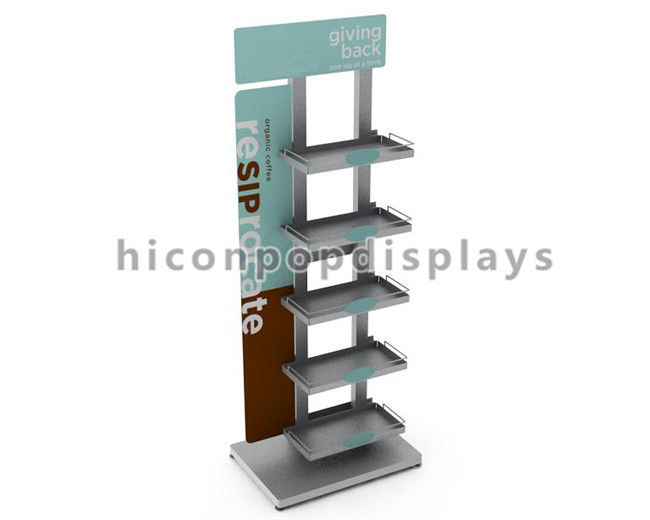 Metal Pop Merchandise Displays Store Food Display Stand For Advertising Awesome Merchandising Display Stands