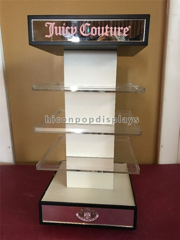 Merchandising Display Stands Acrylic Cosmetic Display Stand Visual Merchandising 41 Way 1