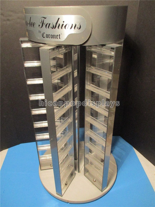 China Fashion Accessories Retail Rotating Earring Display Rack For Brand Jewelry S Supplier
