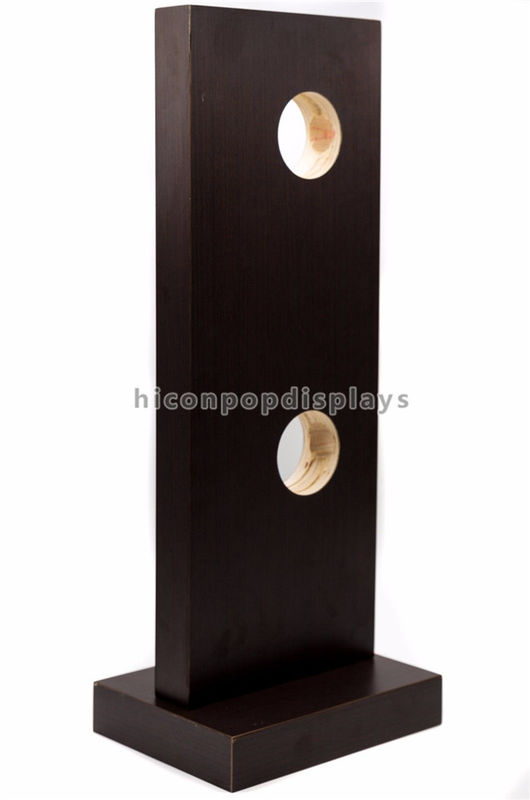 China Veneering Wood 2 Pieces Door Lock Display Stands For Home Decoration Products Shop Supplier