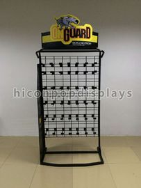 Retail Accessories Display Stand Floor Standing For Sports Bicycle Tools