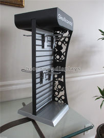 Metal Slatwall Display Stands Countertop Headphone Display Stand With Metal Hooks