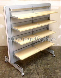 Store Retail Gondola Shelving Clothing Retail Merchandise Displays Double Sided