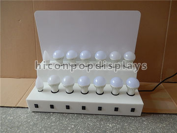 Custom Point Of Purchase Merchandising Displays For Bulbs And Acrylic Led Night Light