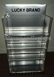 POP Accessories Display Units Custom Metal Watch Display Cabinet For Retail Vendors