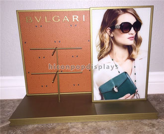 Eyewear Retail Shop Unit Small Counter Display Stands For Sunglasses Merchandising