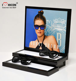 Custom Sunglass Counter Display Acrylic Advertising Countertop Display Stand