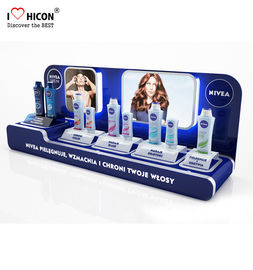 Optimise Sales POP Merchandise Displays Custom Makeup Acrylic Display Stands