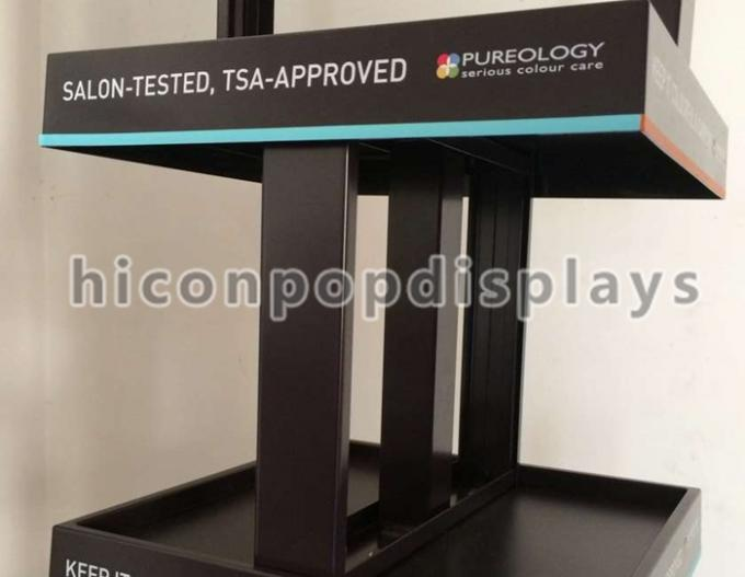 Products Advertise POP Metal Display Racks , Cosmetic Display Racks