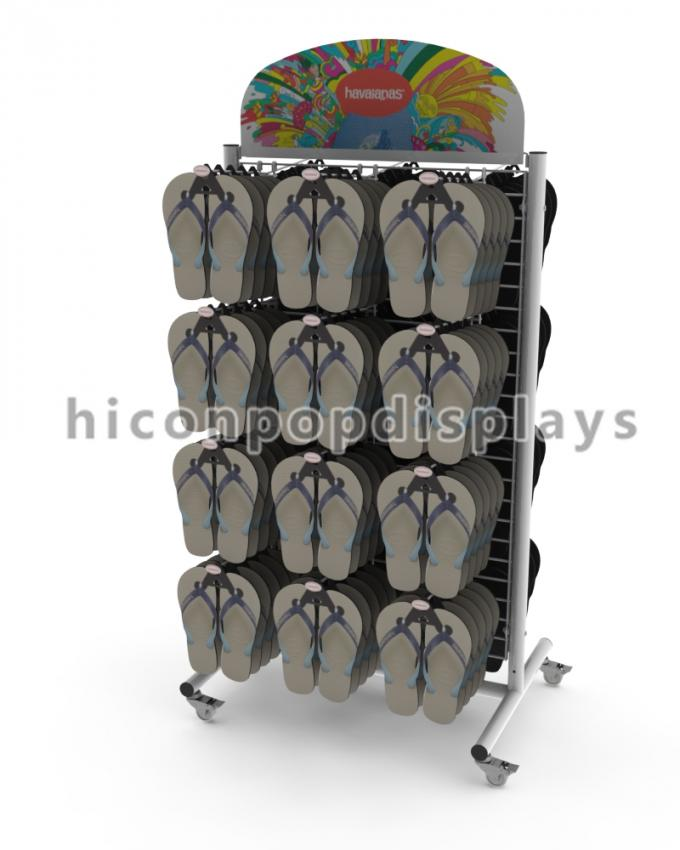 Movable Merchandising Displays Fixtures / Retail Merchandise Displays