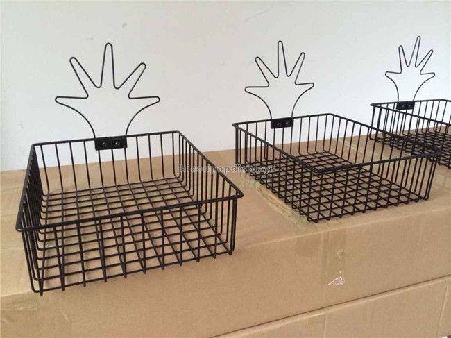 Custom Table Top Finger Puppet Display Rack , Metal Wire Display Racks