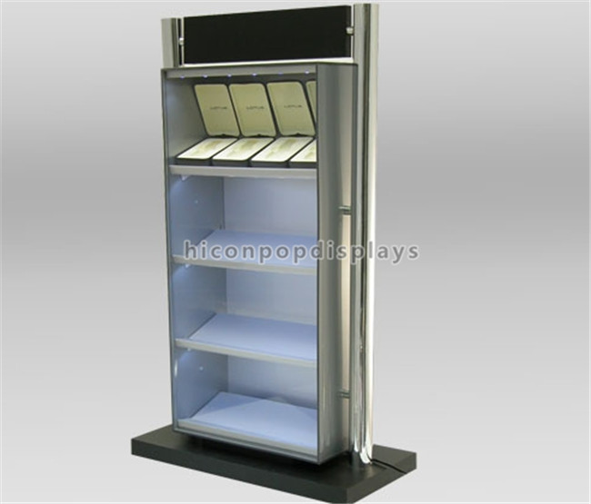 Double - Sided Accessories Retail Display Units Commercial Watch Display Holder