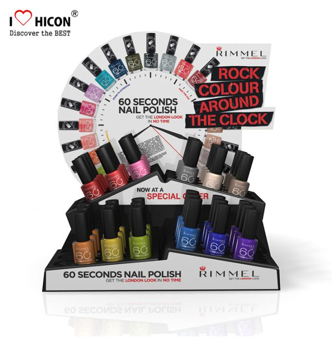Metal Pop Cosmetic Display Stand For Nail Polish To Re-Invent The Shopping Experience