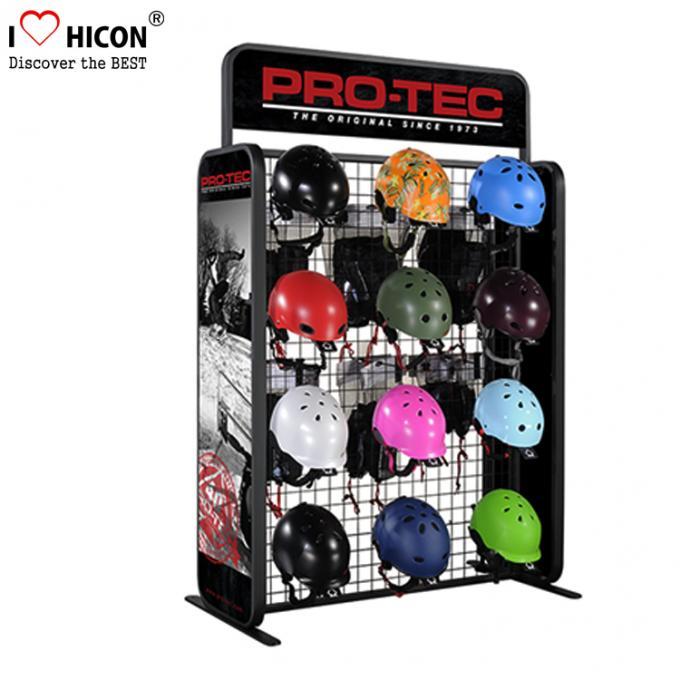 Exhibition Stand Attractors : Attract shoppers flooring display stands helmet