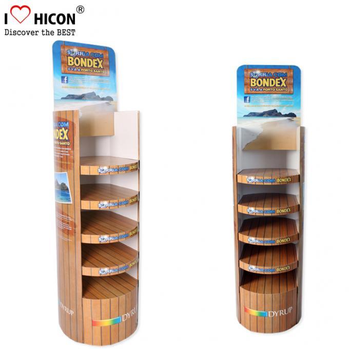 Retail Shop Wooden Display Shelf Countertop Smoking Pipe Rack For